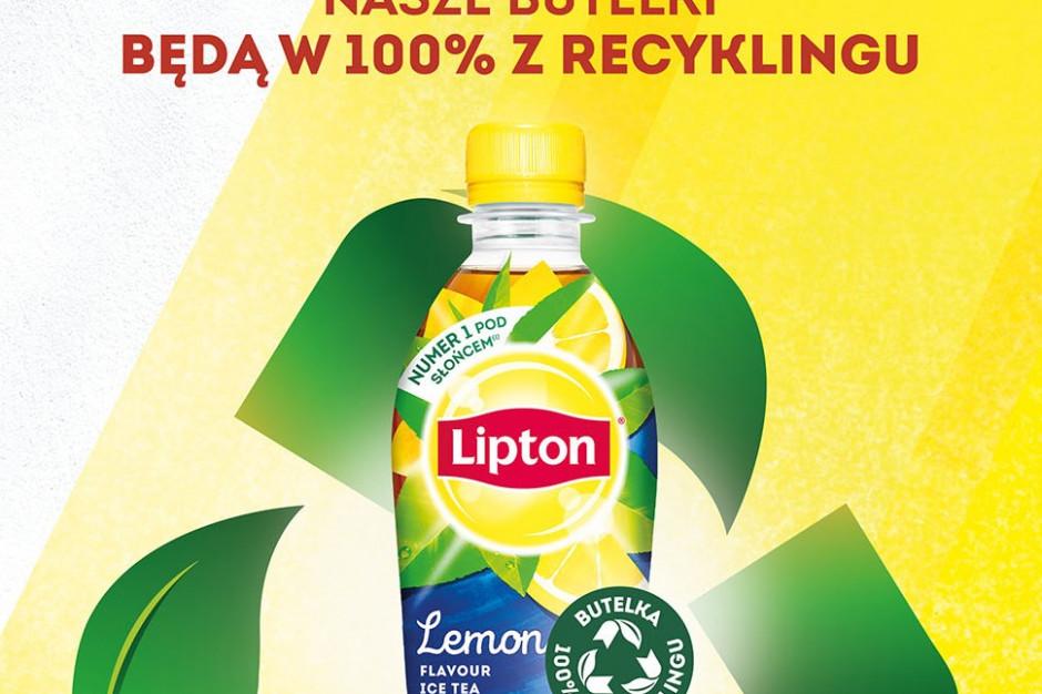Lipton Ice Tea wprowadza do obiegu w Polsce butelki wykonane w 100 proc. z recyklingu