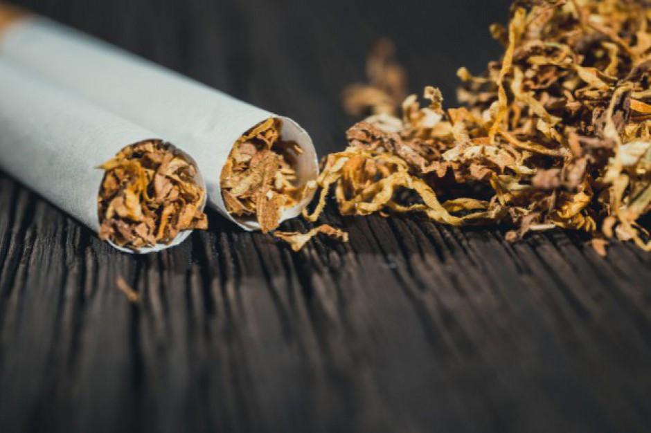 KAS: blisko 1,4 tony suszu tytoniowego w aucie dostawczym