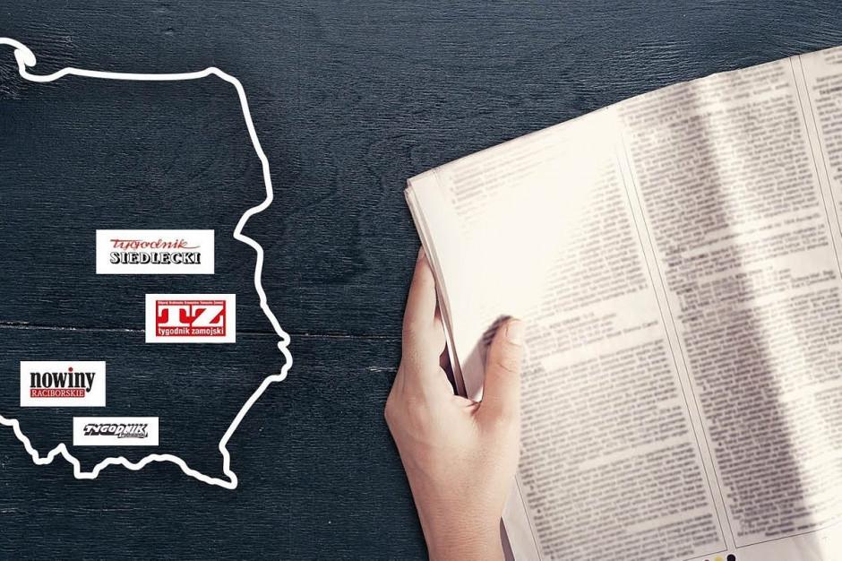 Biedronka w 120. sklepach testuje sprzedaż lokalnych tygodników