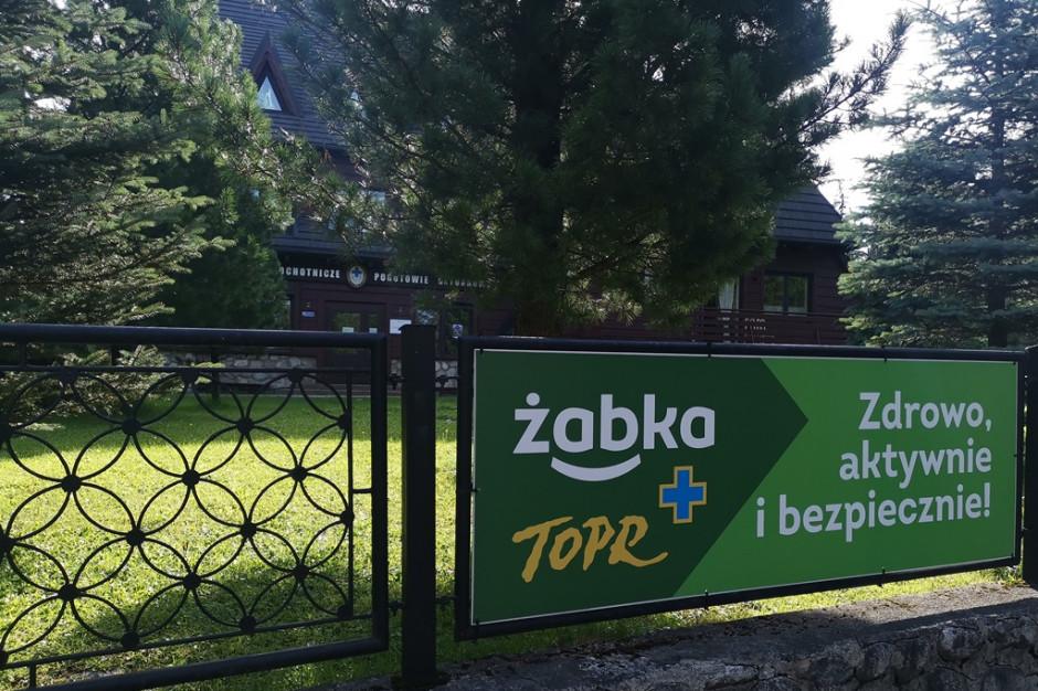 Żabka przedłużyła na kolejny rok współpracę z TOPR