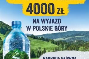 Żywiec Zdrój promuje Żywiecczyznę w najnowszej loterii produktowej wody niegazowanej