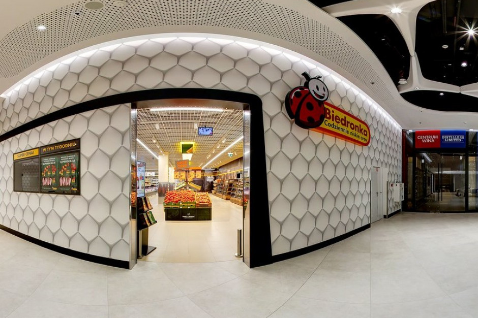 Biedronka otworzyła sklep w The Warsaw Hub