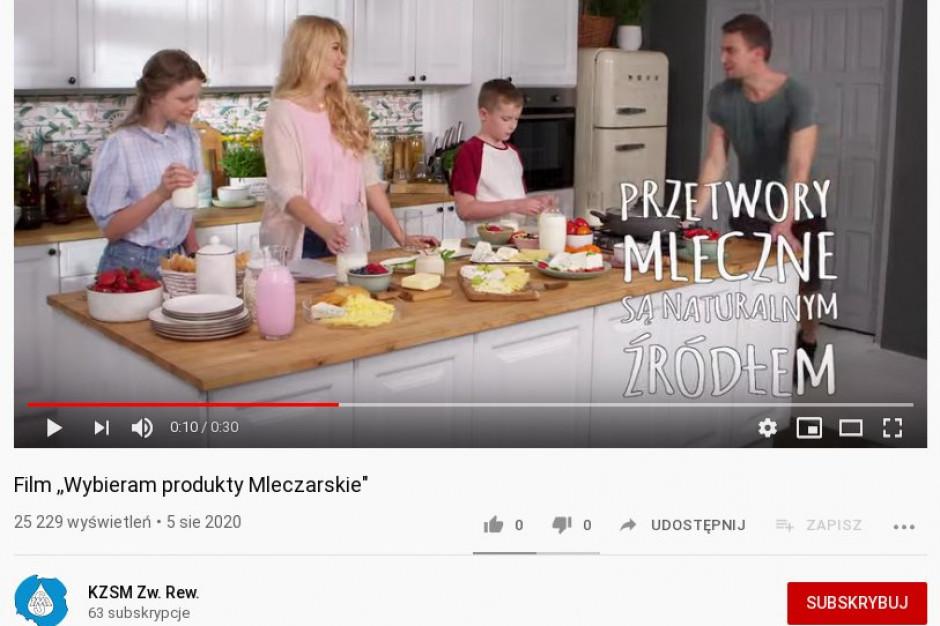 KZSM wypuścił film Wybieram produkty mleczarskie