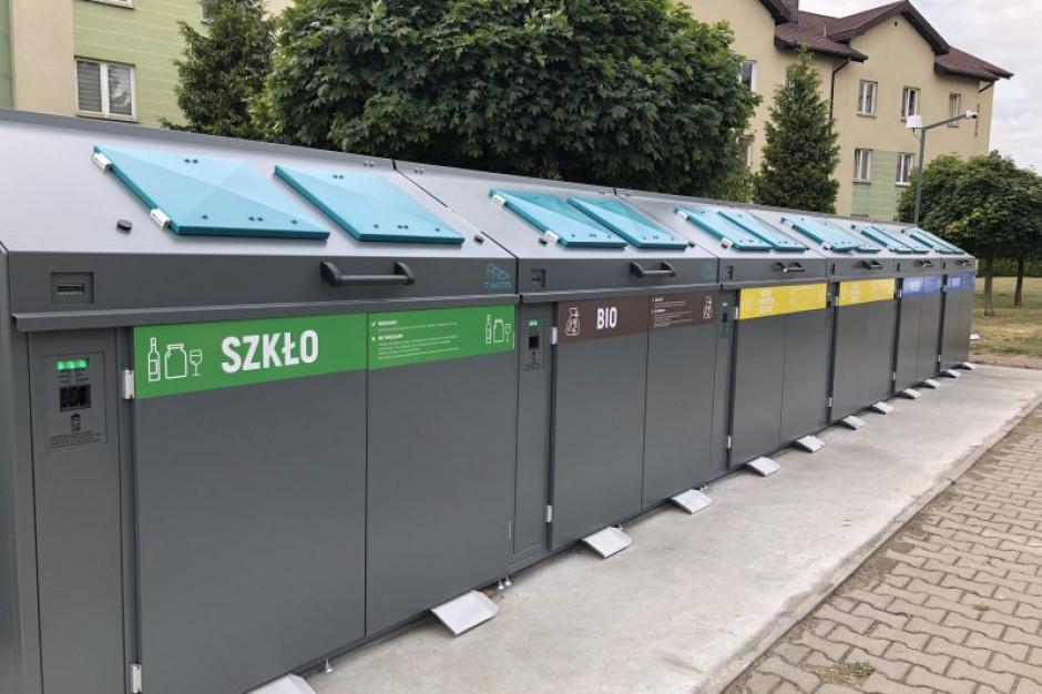 Ciechanów pierwszym miastem w Polsce ze stałym inteligentnym systemem segregacji odpadów