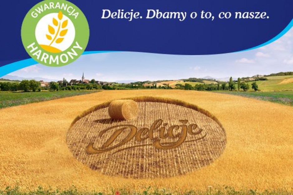 Mondelez z marką Delicje dołącza do programu zrównoważonego pozyskiwania pszenicy Harmony