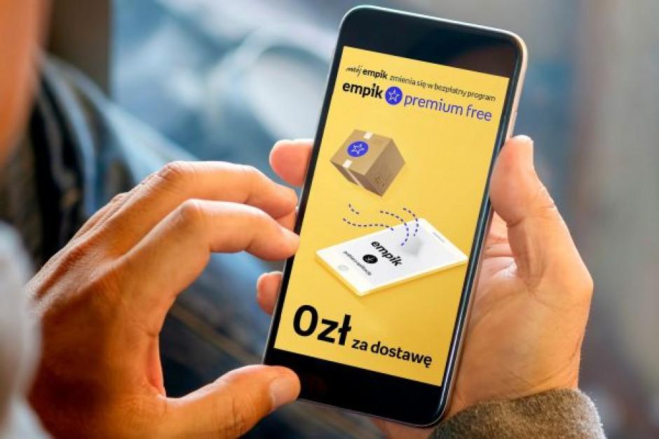 Empik wprowadza na stałe darmową dostawę dla klientów
