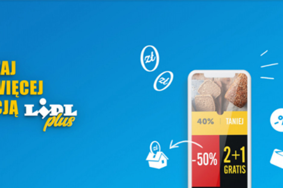 Lidl Plus: 6,5 mln użytkowników korzysta z aplikacji