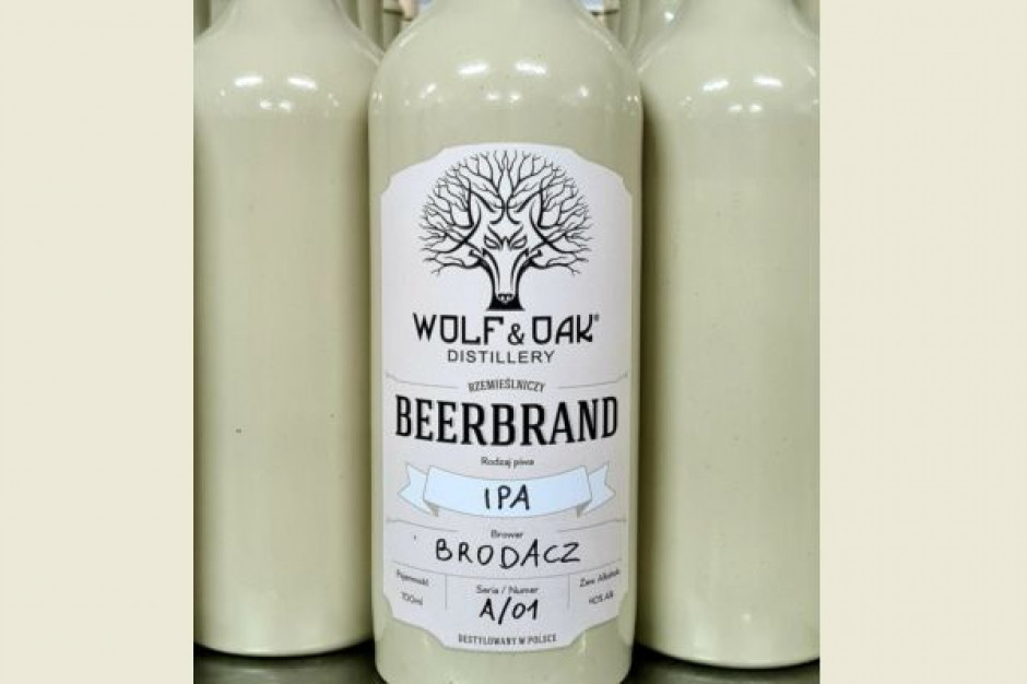 Browar Brodacz rozpoczął współpracę z destylarnią Wolf&Oak tworząc piwny destylat