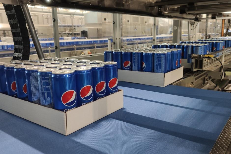 PepsiCo uruchomiło nową linię technologiczną do produkcji napojów w puszkach w zakładzie w Michrowie