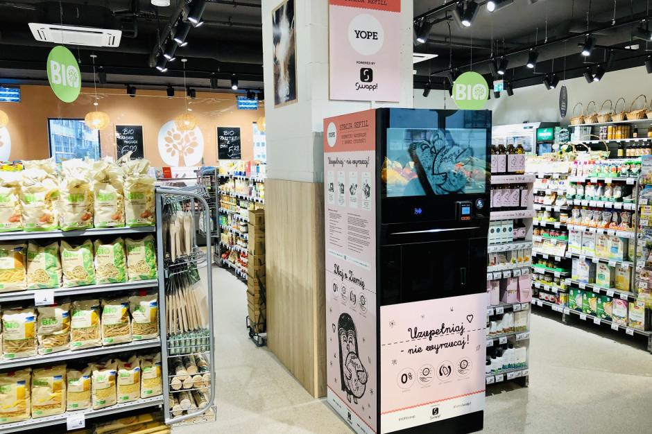 Carrefour uruchamia pierwszą stację refillingową kosmetyków