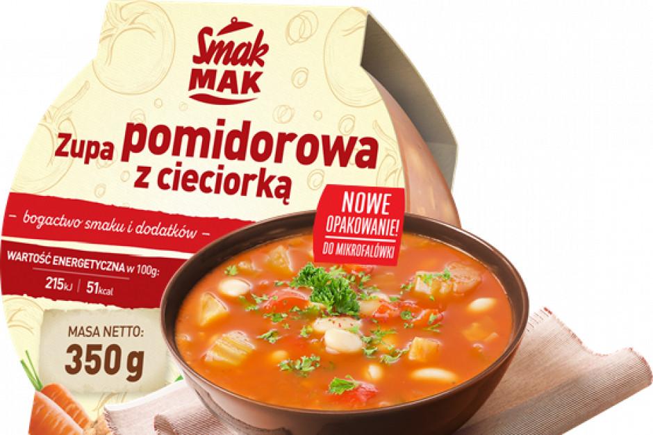 Pomidorowa z cieciorką i gulaszowa - treściwe zupy na jesień od SmakMAK