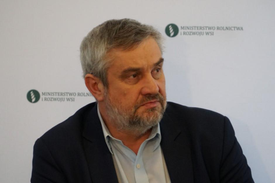 Ardanowski: mimo obaw związanych z suszą zbiory są dobre