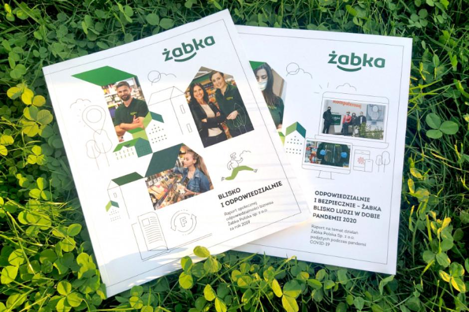 Żabka opublikowała swój pierwszy raport ESG