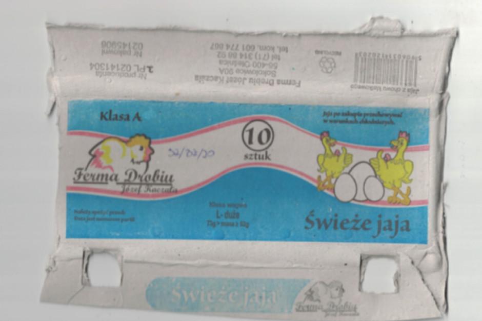 GIS ostrzega przed salmonellą w jajach