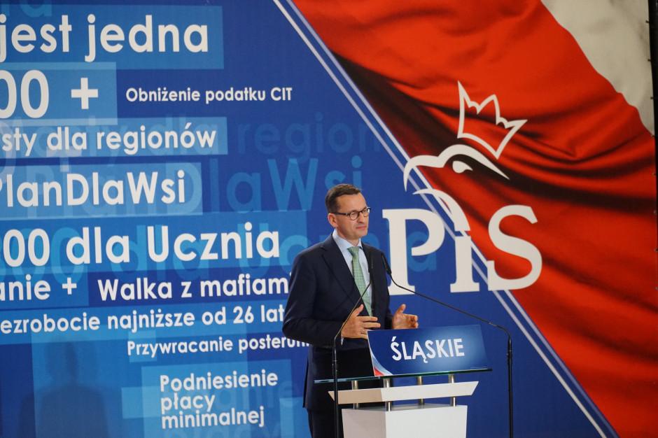 Morawiecki: Wprowadzimy zerowy PIT dla osób na stażach i praktykach