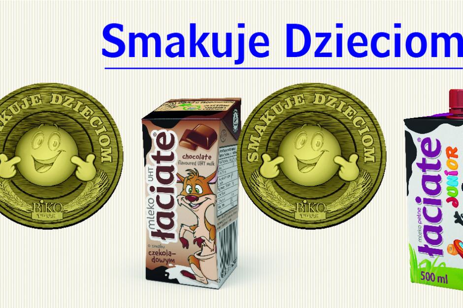 Mlekpol  zdobywa trzy złote medale w konkursie Smakuje Dzieciom 2020