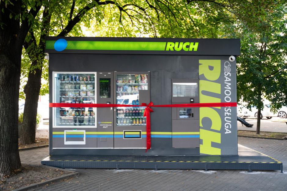 Perwszy samoobsługowy kiosk RUCH-u