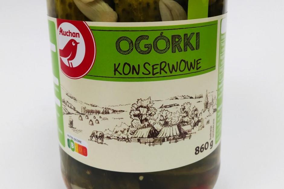 Auchan Retail Polska wprowadza etykiety żywieniowe Nutri-Score