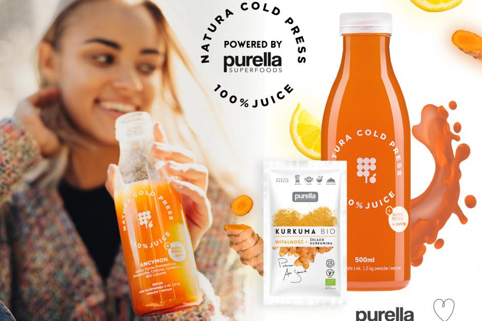 Natura Cold Press i Purella Superffoods łączą siły
