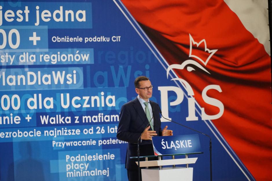 Morawiecki: zmiany w rządzie przyczynią się do szybszego wyjścia z kryzysu i budowy państwa dobrobytu