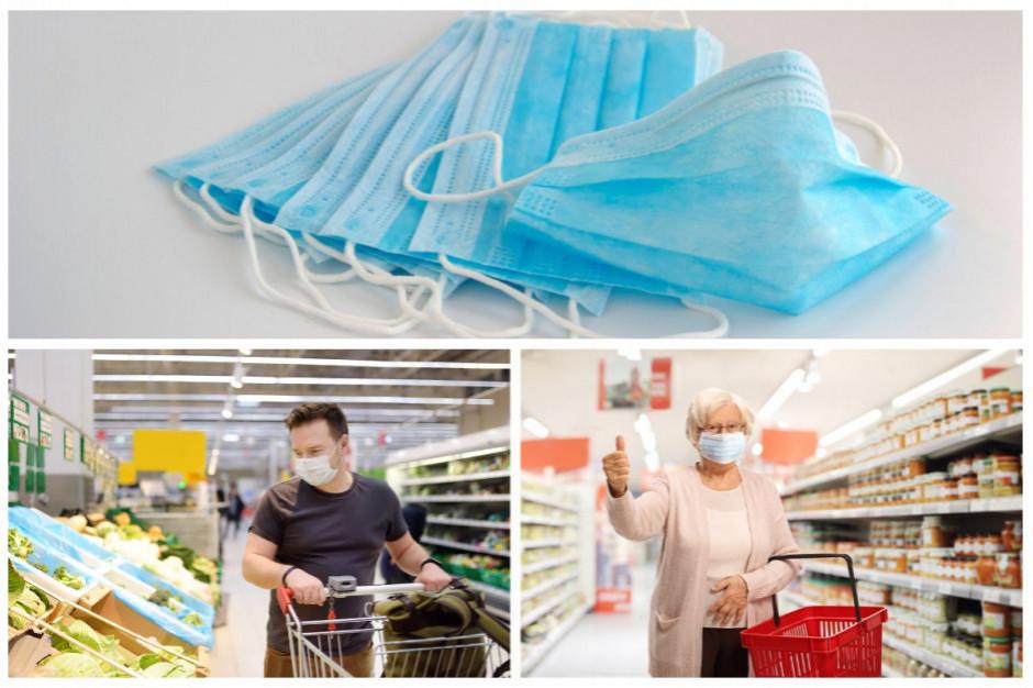 Będą większe kontrole dot. zakrywania ust i nosa w sklepach