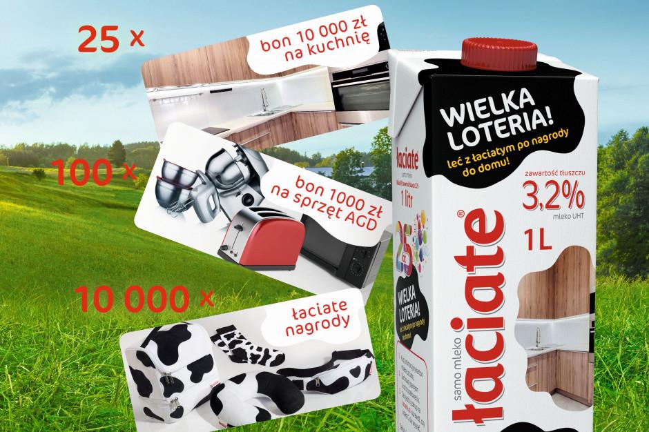 Nowa loteria konsumencka mleka Łaciate