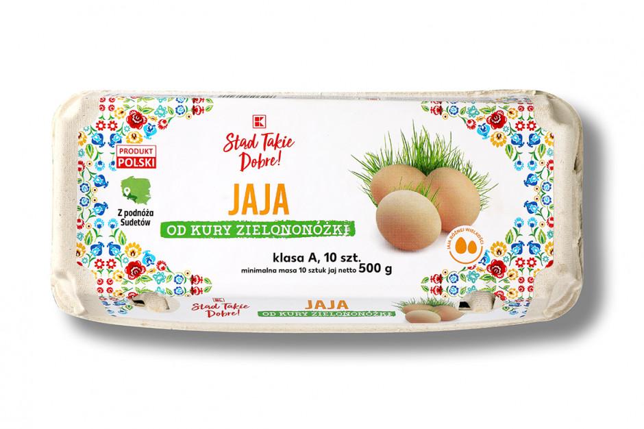 Kaufland poszerza ofertę jaj z wolnego wybiegu marki własnej