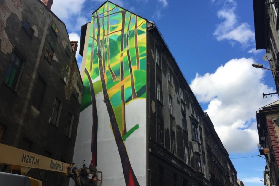 Aldi tworzy w Bielsku-Białej swój pierwszy antysmogowy mural