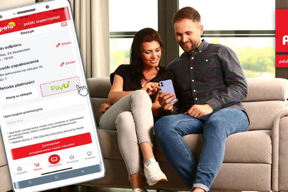Polomarket udostępnia klientom opłacanie zakupów online we własnej aplikacji