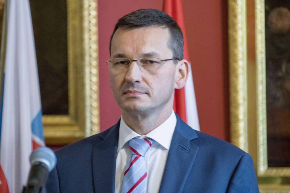 Premier Mateusz Morawiecki na kwarantannie