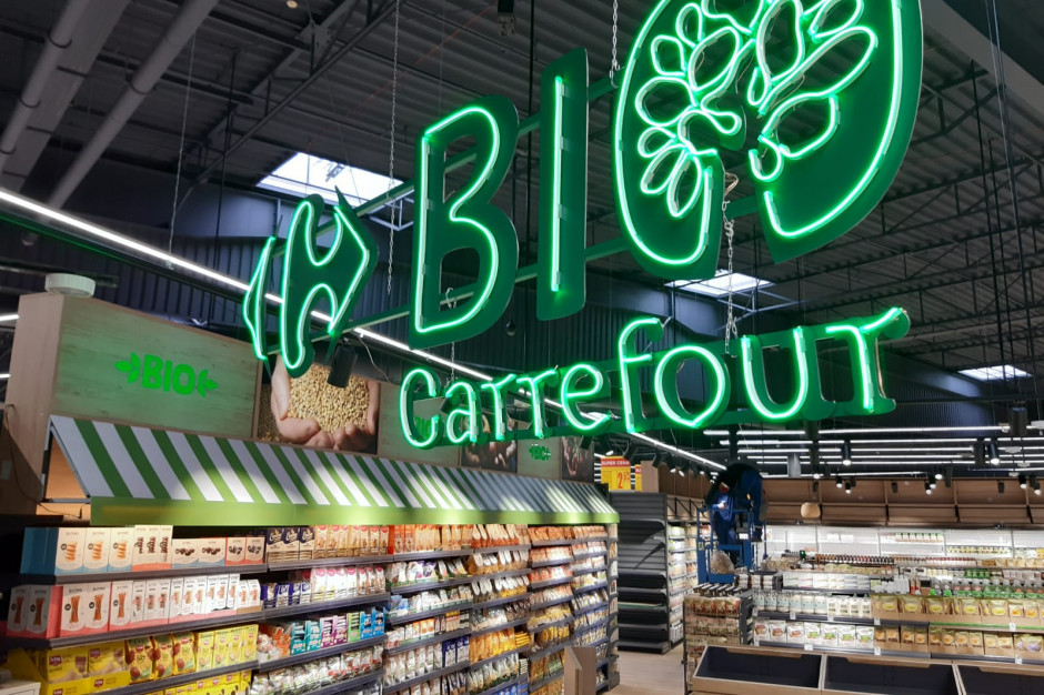Carrefour z nowym hipermarketem z wydzieloną częścią bio w ramach konceptu store-in-store