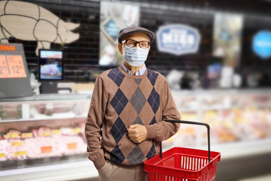 Limity w sklepach w czerwonej strefie: 5 osób na kasę lub 1 osoba na 15 mkw.