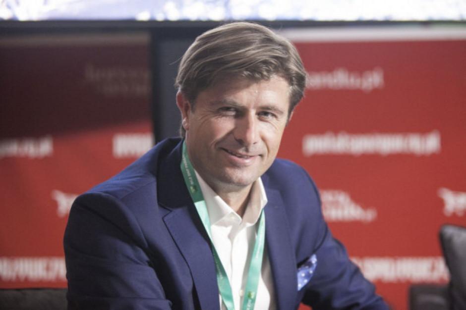 Michał Czerwiński, prezes Purella Superfoods, uczestnikiem Internetowego Forum Rynku Spożywczego i Handlu