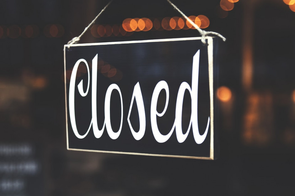 W niedzielę 25 października sklepy zamknięte