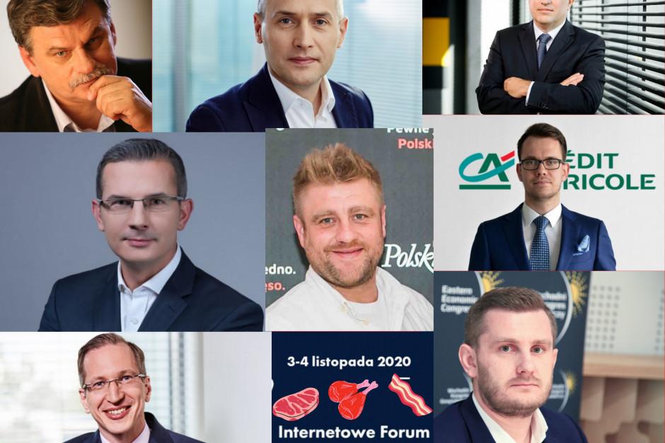 O kondycji branży mięsnej na Internetowym Forum Rynku Spożywczego i Handlu 2020