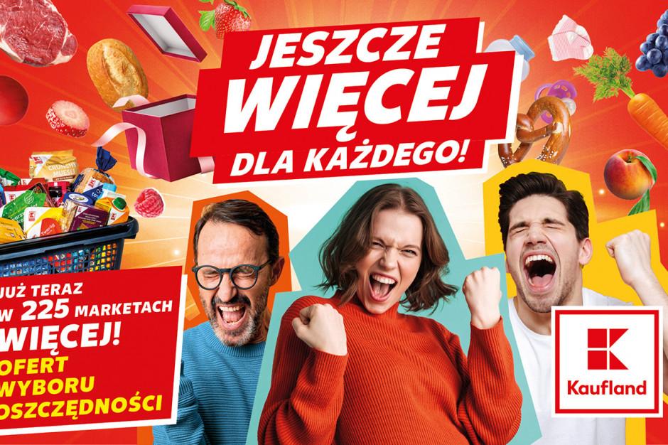 """Kaufland rusza z kolejną odsłoną kampanii reklamowej """"Więcej"""""""