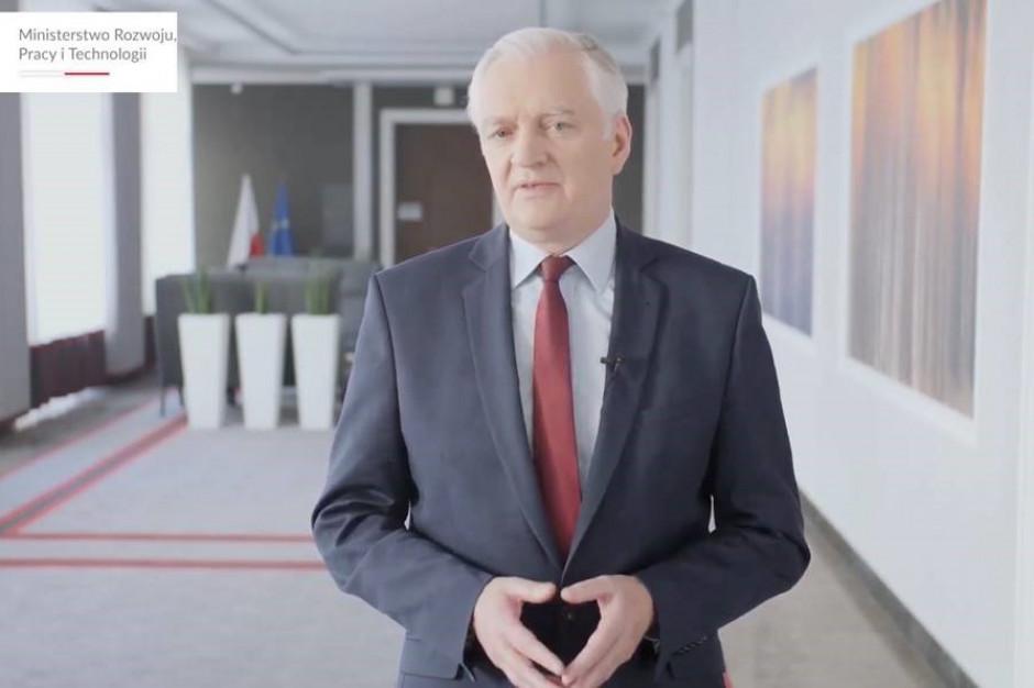 Jarosław Gowin: Przemysł spożywczy i handel przechodzą transformację cyfrową