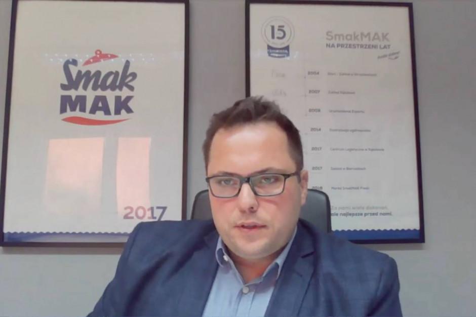 Dyrektor SmakMAK na Internetowym FRSiH: Przyszłość firm to automatyzacja