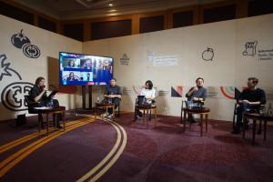 """Zdjęcie numer 1 - galeria: """"Innowacje w czasach koronawirusa. Co z nadziejami start-upów?"""" – pełna relacja (wideo)"""