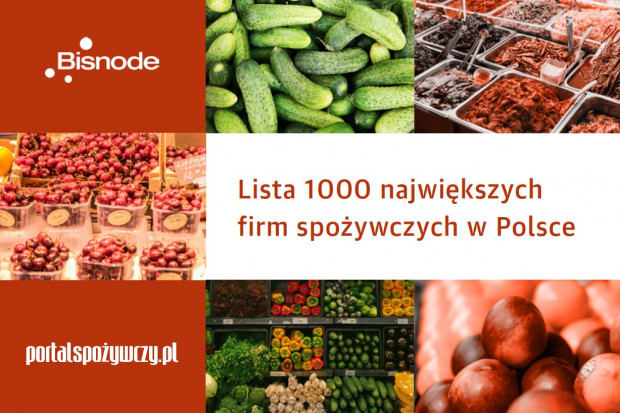 Lista 1000 największych firm spożywczych w Polsce - edycja 2020