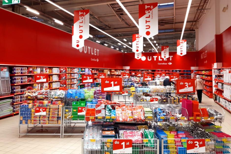 Carrefour uruchomił w swoich sklepach nowy koncept – strefę Outlet