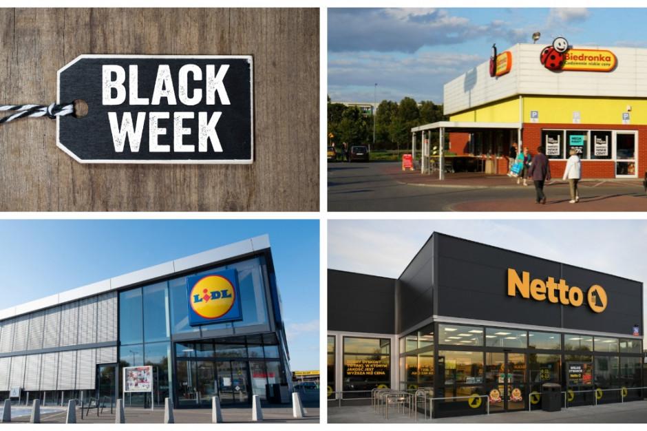 Biedronka, Lidl i Netto napędzają sprzedaż dzięki Black Week