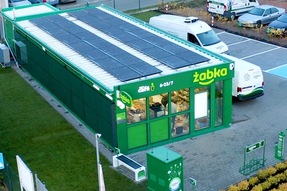 Żabka otworzyła sklep zasilany w stu procentach zieloną energią (galeria zdjęć i wideo)