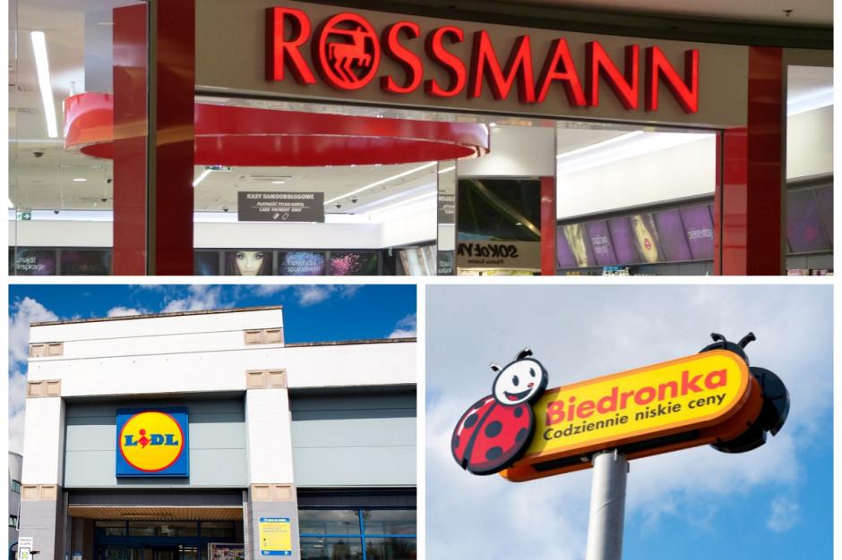Rossmann, Lidl i Biedronka to najbardziej popularne marki wśród konsumentów (badanie)