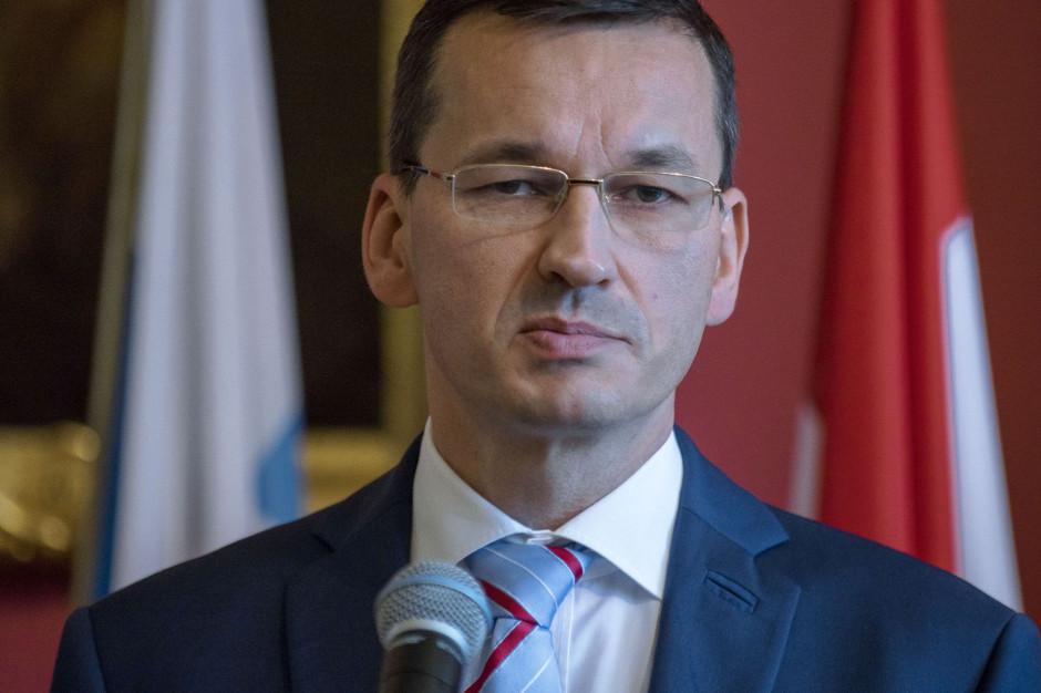 Morawiecki: Podatek cukrowy będzie służył także ratowaniu polskich firm
