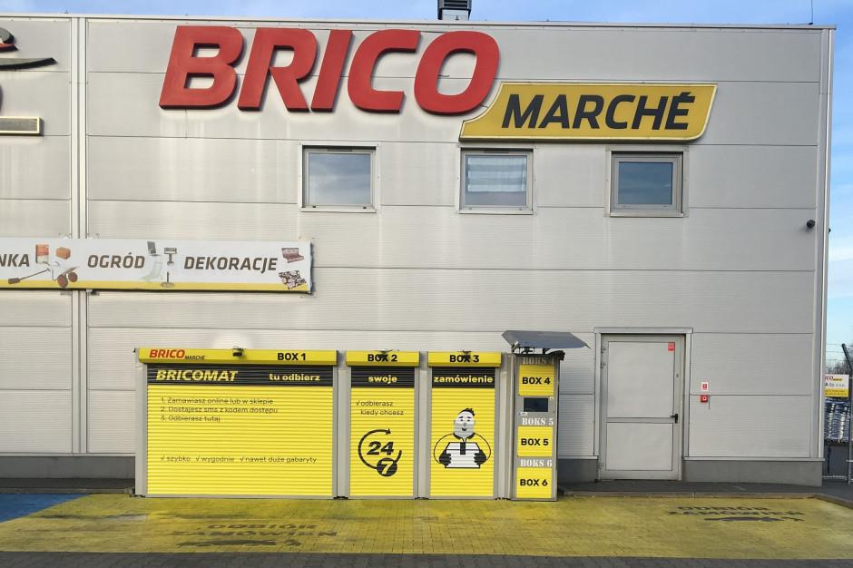 Bricomaty do końca 2021 roku staną przy wszystkich sklepach Bricomarché