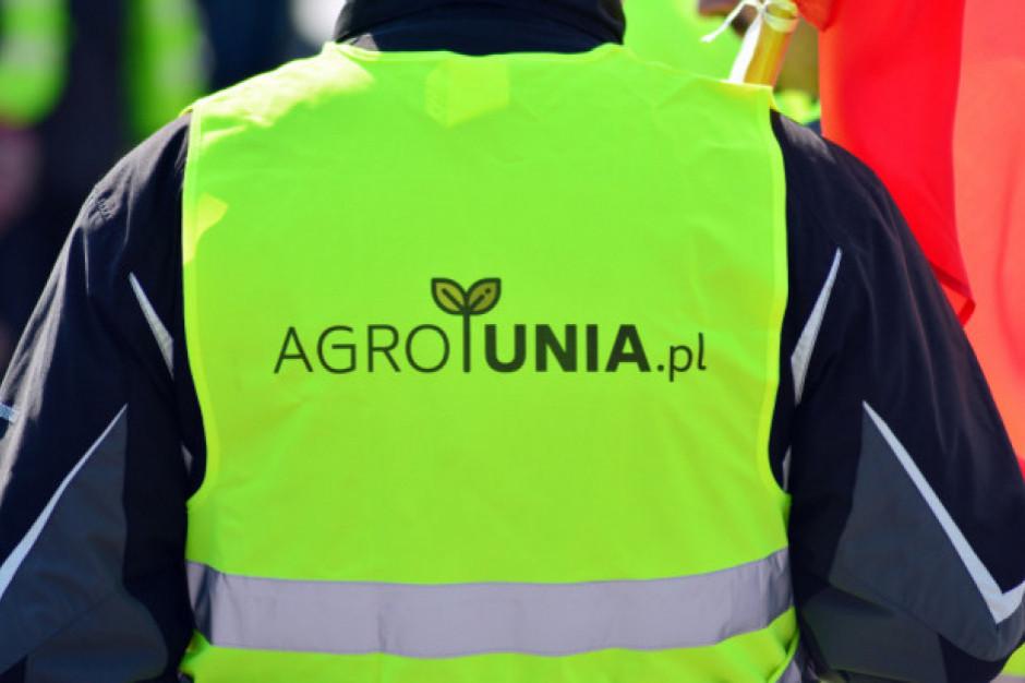 W Warszawie policja zablokowała protest rolników