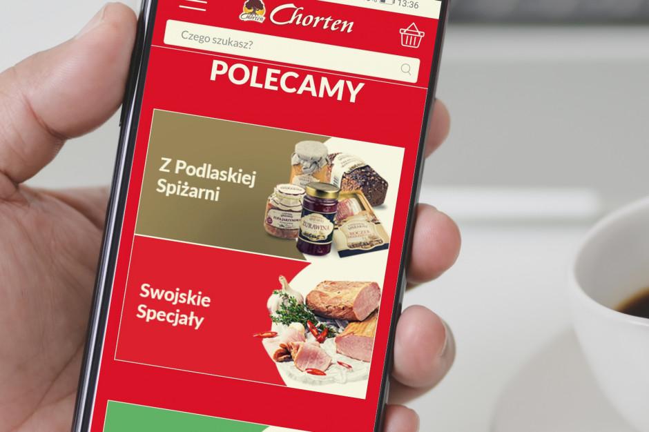 Grupa Chorten uruchomiła sklep online z dostawą do domu