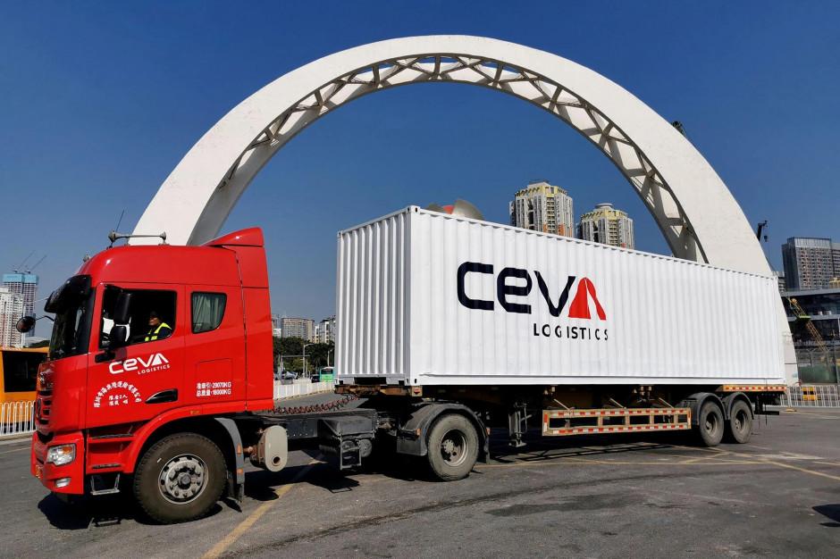 CEVA Logistics uruchamia najszybszy serwis drogowy między Chinami a Europą dla przesyłek LTL