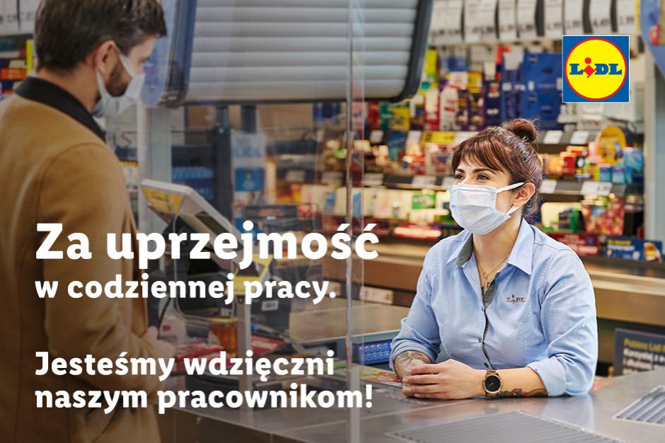 Lidl dziękuje pracownikom w nowej kampanii